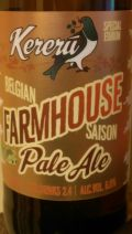 Kereru Farmhouse Pale Ale