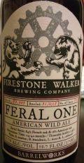 Firestone Walker Feral One Batch 3