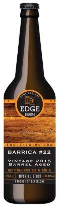 Edge Brewing Barrica #22