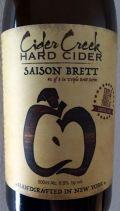 Cider Creek Saison Brett