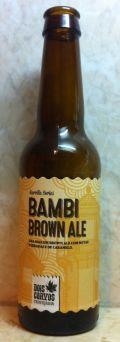 Dois Corvos Bambi Brown Ale