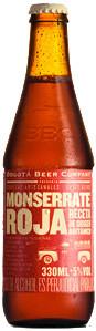 Bogotá Beer Company (BBC) Monserrate Roja