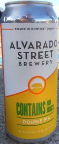 Alvarado Street Contains No Juice