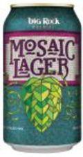 Big Rock Mosaic Lager