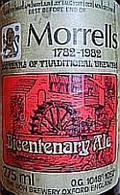 Morrells Bicentenary Ale