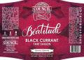 Council Béatitude: Black Currant Tart Saison