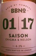 Brew By Numbers 01/17 Saison - Enigma & Nelson