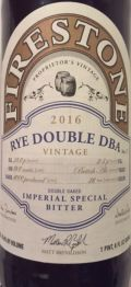 Firestone Walker Rye Double DBA