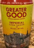 Greater Good Imperial Citra Saison