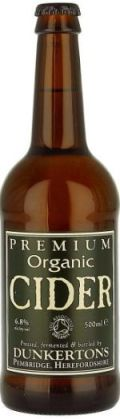 Dunkertons Premium Organic Cider (Sparkling) (Bottle)