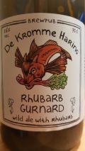 De Kromme Haring Rhubarb Gurnard