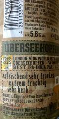 Insel-Brauerei Übersee Hopfen (Japan - Sorachi Ace)