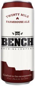 Bench Brewing Twenty Mile Farmhouse Ale