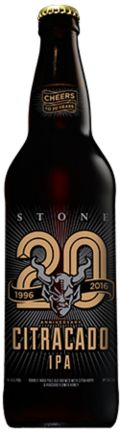 Stone 20th Anniversary Citracado IPA