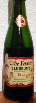 Le Brun Cidre Fermier Brut
