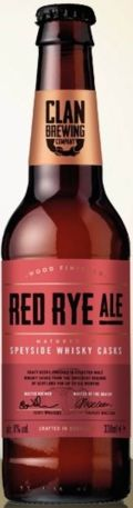 Clan Brewing Red Rye Ale