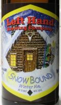 Left Hand Snow Bound Winter Ale