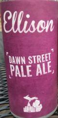 Ellison Dawn Street Pale Ale