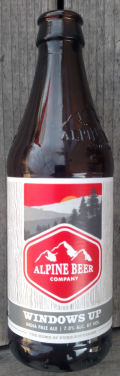 Alpine Beer Company Windows Up