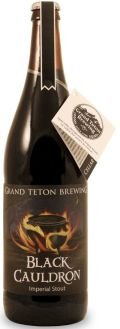 Grand Teton Black Cauldron Imperial Stout