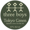 Three Boys Tokyo Green
