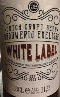 Emelisse White Label Imperial Russian Stout (Bruichladdich BA Peated)