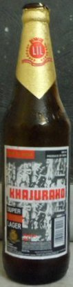 Khajuraho Super Strong Lager (Export)