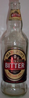 Marston's Burton Bitter (Bottle)