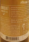 pFriem Kumquat Farmhouse Ale