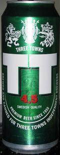 Three Towns TT Original Lager 4.5%