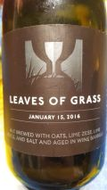 Hill Farmstead Leaves of Grass - January 15, 2016