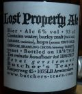 Butcher's Tears Lost Property Ale