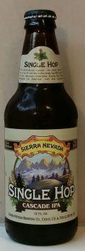 Sierra Nevada Single Hop IPA - Cascade