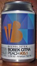 Beerbliotek Pale Ale Bobek Citra - Peach