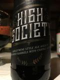 Listermann High Society - Bourbon Barrel Aged Barleywine With Coffee