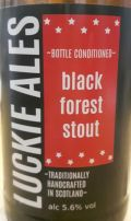 Luckie Ales Black Forest Stout