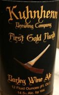 Kuhnhenn First Gold Rush Barley Wine