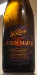The Bruery Midnight Autumn Maple