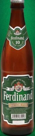 Ferdinand Výčepní Pivo Svetlé 10°