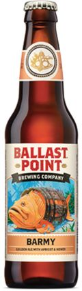 Ballast Point Barmy Apricot Ale