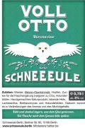 Schneeeule Voll Otto