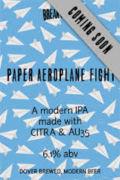 Breakwater Paper Aeroplane Fight