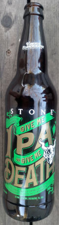 Stone (Richmond) / Ardent / Hardywood Give Me IPA or Give Me Death