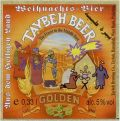 Taybeh Beer Golden