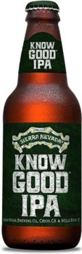 Sierra Nevada Know Good IPA