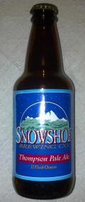 Snowshoe Thompson Pale Ale