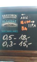 Faktoria Alcatraz Rum BA