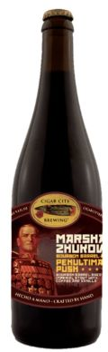 Cigar City Marshal Zhukov's Penultimate Push - Bourbon Barrel