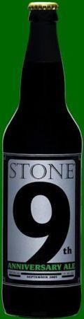 Stone 9th Anniversary Ale