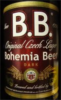 B.B. (Budweis Bohemia) Dark (brown label)